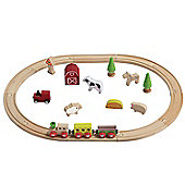 Teamson EverEarth Farm Train Set