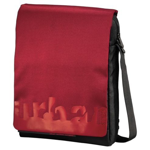 Hama AHA Milla Laptop Messenger Bag, Red