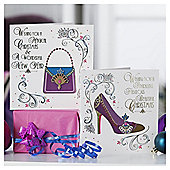 Tesco Shoe And Present Christmas Cards, 10 Pack