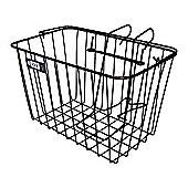 Adie Front Wire Basket in Black - Jumbo