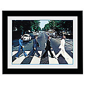 The Beatles Crossing Framed Print, 30x40cm