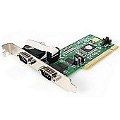 StarTech RS232 2 Port PCI Serial Adapter Card With 16550 UART