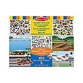 Melissa & Doug Sticker Pad - Vehicles