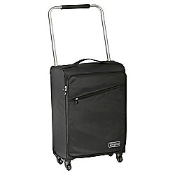 Z Frame Super-Lightweight 4-Wheel Suitcase, Black Large