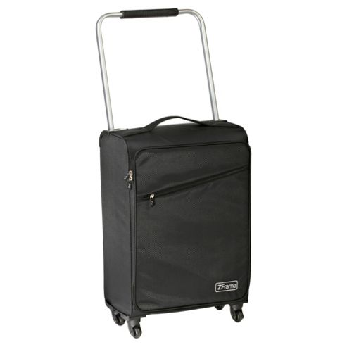 Z Frame Super-Lightweight 4-Wheel Suitcase Large Black Suitcase
