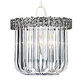 Endon Lighting Pendant in Antique Silver (Set of 2)