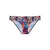 F&F Tropical Print Narrow Bikini Briefs - Multi