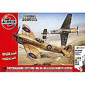 Airfix A50160 Supermarine Spitfire MkVb Messerschmitt Bf109E