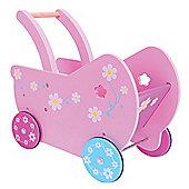 Bigjigs Toys BJ390 Daisy Doll Pram