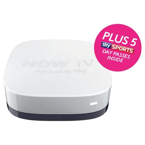 NOW TV HD Digital Media Streamer with 5 Sky Sports Day Passes
