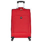 Revelation by Antler Havana 4-Wheel Suitcase, Red Medium