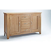 Ametis Sherwood Oak Three Drawer Sideboard