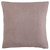 Cotton Chambray Cushion Mocha