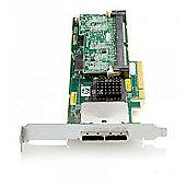 HP Smart Array P411/1G FBWC 2-ports Ext PCIe x8 SAS Controller