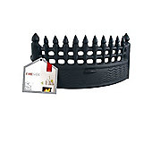 DEVILLE FIRE FRONT BLK CASTLE 16IN