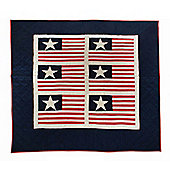 Woven Magic Independence Day-Tea Dyed Crib Throw
