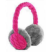Audio Earmuffs Cable Knit