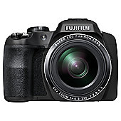 "Fuji SL1000 Digital Bridge Camera, Black, 16MP, 50x Optical Zoom, 3"" LCD, Full HD 1080i HD Video"