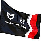 Marussia Virgin Racing F1 Team Flag (no pole supplied)