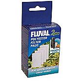 Fluval 2 'Plus' Polyester Pads 4Pk