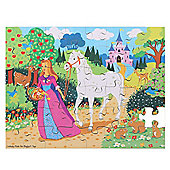 Bigjigs Toys BJ043 Once Upon a Time Puzzle (48 Piece)