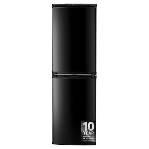 Hotpoint FFAA52K Fridge Freezer, A+ Energy Rating, Black, 55cm