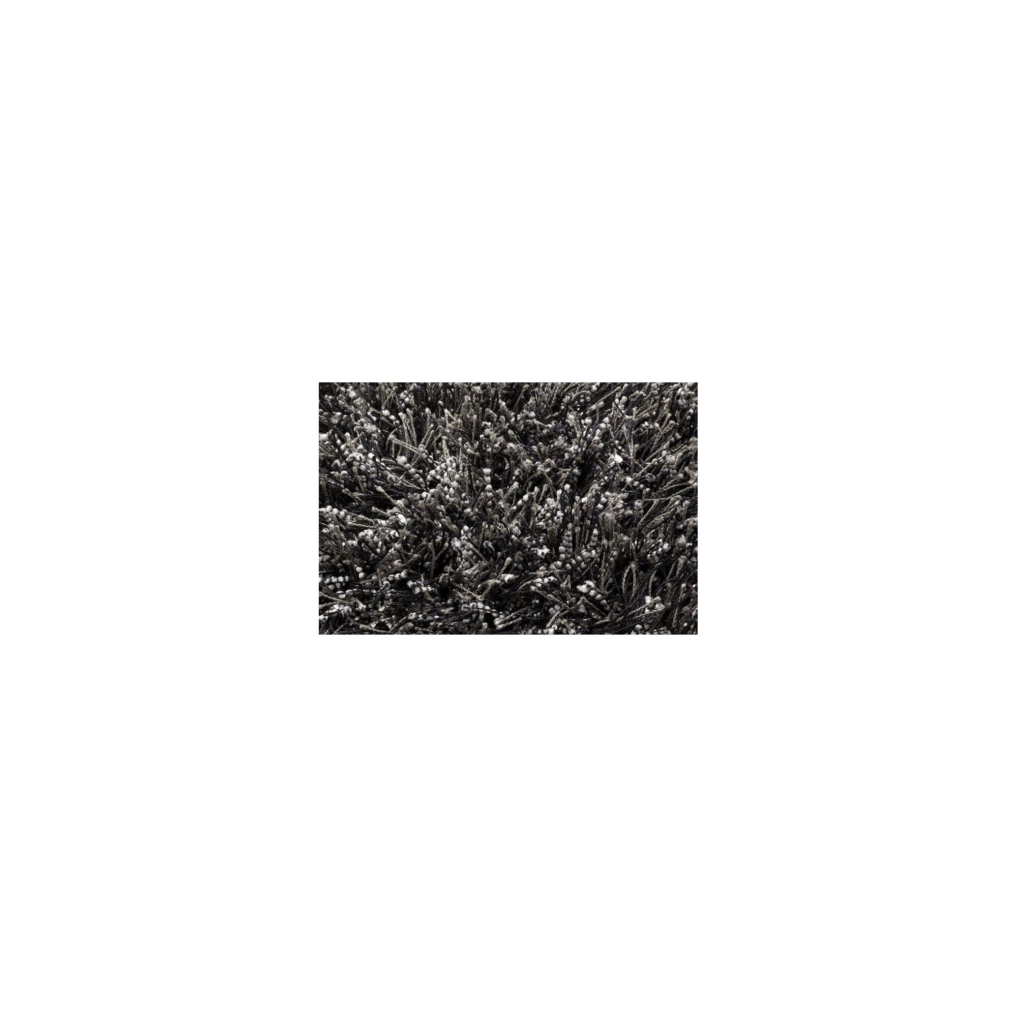Linie Design Sprinkle Black Shag Rug - 300cm x 200cm at Tesco Direct