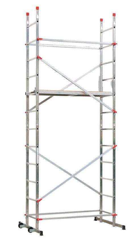 Hailo 440cm 1-2-3 500 Aluminium Scaffolding