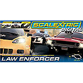 1:32 Scale Digital Law Enforcer Race Set - Track Set - Scalextric