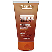 L'Oréal Sublime Self-Tan Gel Face and Body 150ml