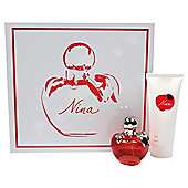 Nina Ricci Nina 50Ml Edt + 100Ml Body