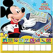 Disney Mickey's Piano Party Book