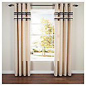 Linen Pleat Curtain Black 64X90