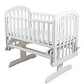 PreciousLittleOne Venice Glider Crib (White)