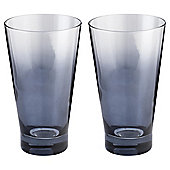 Tesco Ombre Metallic Hiball Glass 2 pack