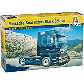 Mercedes-Benz Actros BLACK EDITION - 1:24 Scale - 3841 - Italeri