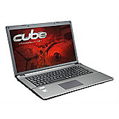 "Cube CZ-7 17.3"" Intel Core i5 Windows 10 8GB RAM 1000GB Laptop Silver"