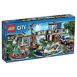 LEGO City Swamp Police Station 60069
