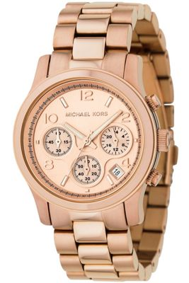 Michael Kors Ladies Gold Tone Bracelet Watch MK5128