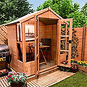BillyOh 4000S 4 x 6 Tete a Tete Tongue and Groove Summerhouse