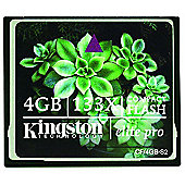 Kingston 4GB Compact Flash Elite Pro