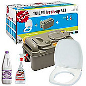 Caravan Cassette Toilet Tank C200 Fresh Up Kit