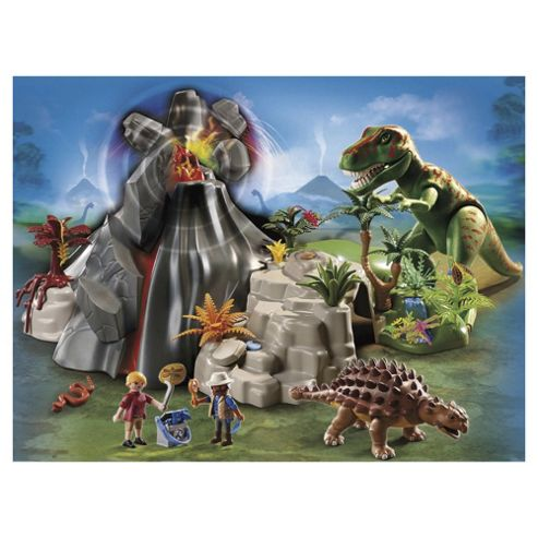 Playmobil 5230 T-Rex with Volcano