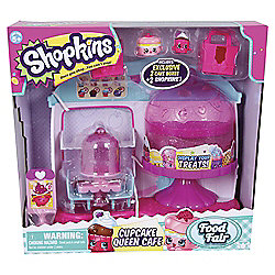Shopkins Cupcake Queen Cafe Playset