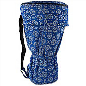 "World Rhythm ML Blue 9.5"" Djembe Drum Bag"
