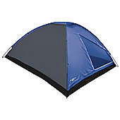 Yellowstone 4 Man Dome Tent Waterproof 3 Season Blue
