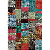 Angelo Up-Cycle Multi Rug - 300cm x 200cm (9 ft 10 in x 6 ft 6.5 in)