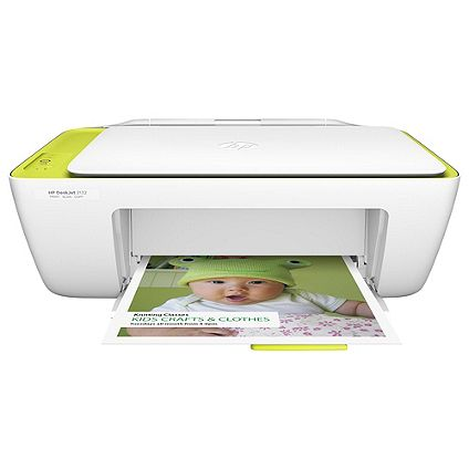 Save £15 on HP Deskjet 2134, All in One Inkjet colour printer