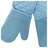 Turquoise Silicone Double Oven Glove