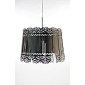 Globen Lighting Spritz One Light Pendant - Chrome